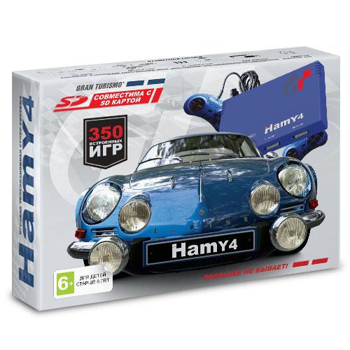 "16 bit - 8 bit ""Hamy 4"" (350-in-1) Gran Turismo Blue (УЦЕНКА, ПОСЛЕ РЕМОНТА)"