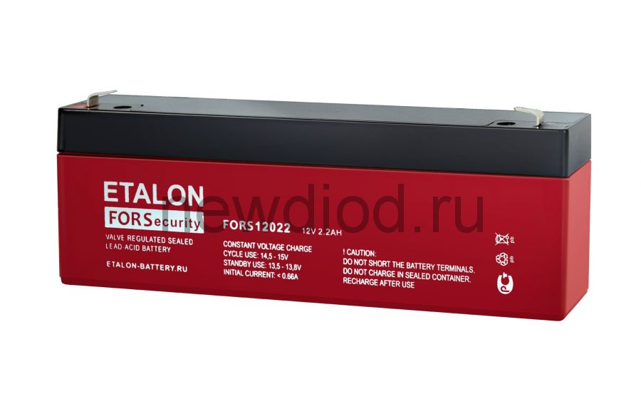 Аккумулятор ETALON FORS 12022 (12В/2.2Aч)