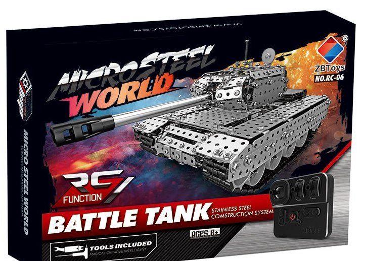 SW(RC)-006 Конструктор металлический танк на радио управлении