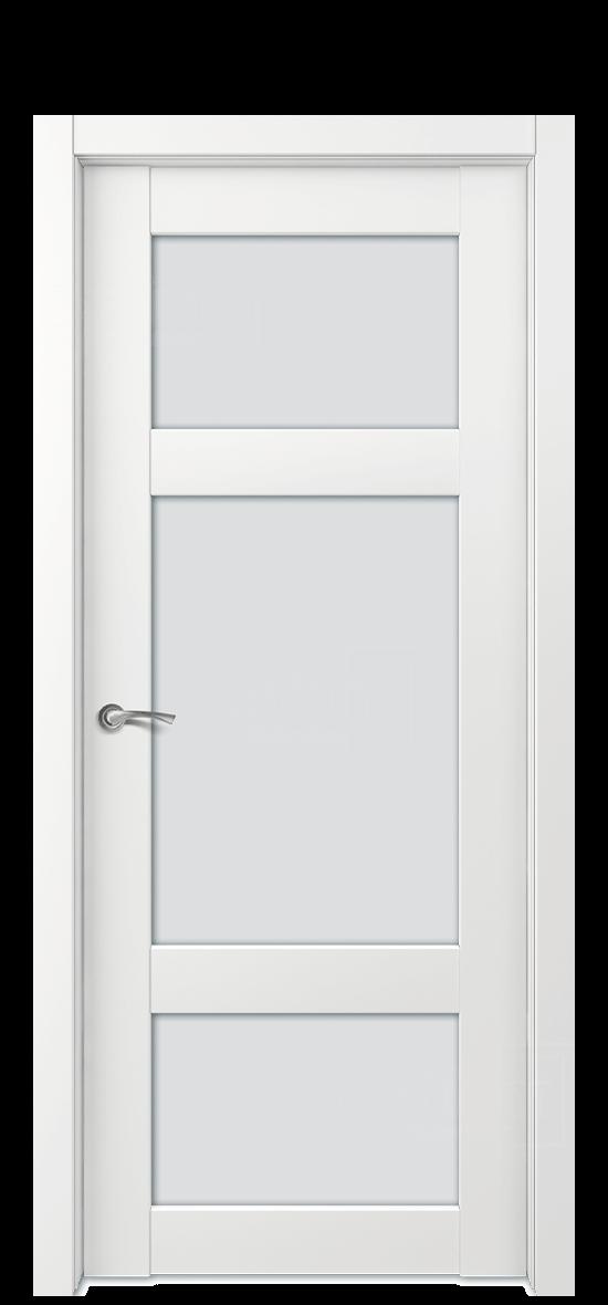 Межкомнатная дверь Е4 ДО стекло 5