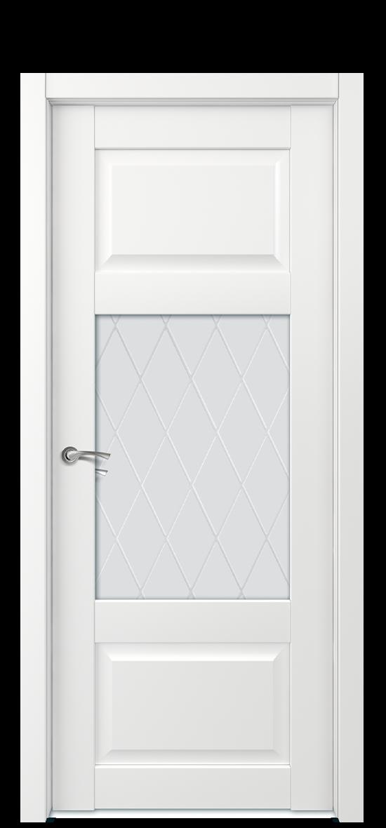 Межкомнатная дверь Е6 ДО стекло 2