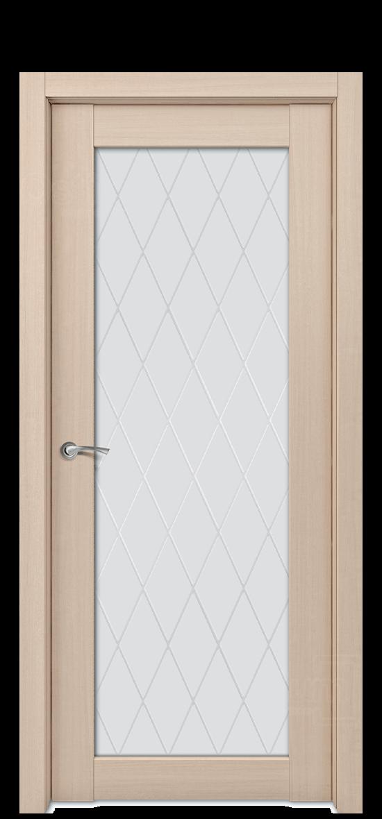 Межкомнатная дверь Е8 ДО стекло 2