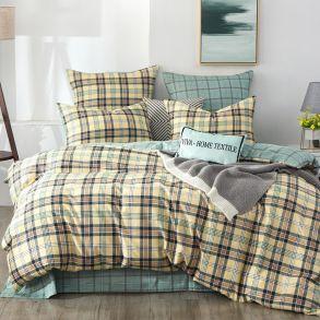 Комплект постельного белья Делюкс Сатин L322