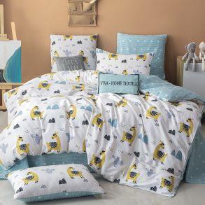 Комплект постельного белья Делюкс Сатин L334