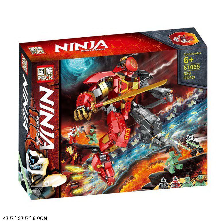 61065  Конструктор Ninja робот самурай