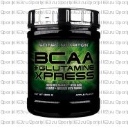 BCAA Scitec Nutrition BCAA+Glutamine Xpress 300 гр (яблоко)