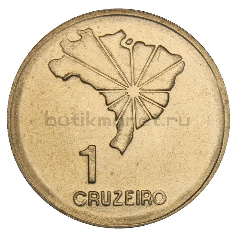 1 крузейро 1972 Бразилия 150 лет Декларации о Независимости
