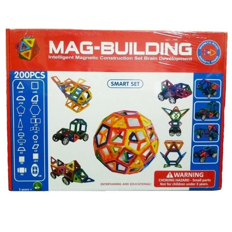 Mag-building 200 деталей