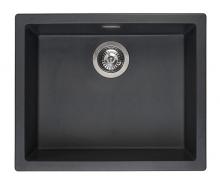 Мойка Reginox Amsterdam 50 R/U (560х460) Black Silvery R30844