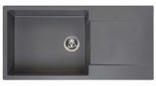 Мойка Reginox Amsterdam 540 (1000х500) R реверсивная Grey Silvery R30813