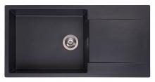 Мойка Reginox Amsterdam 540 (1000х500) R реверсивная Black Silvery R30806