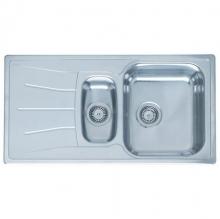 Мойка кухонная Reginox Diplomat R15 (950х500) Lux реверсивная 3203