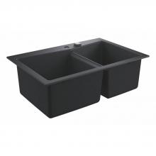 Мойка для кухни (838 x 559) Grohe K700 31657 AP0 (31657AP0) черный гранит