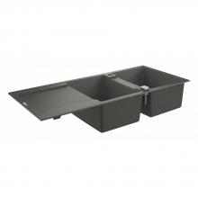 Мойка для кухни (1160 x 500) Grohe K500 31647 AT0 (31647AT0) серый гранит