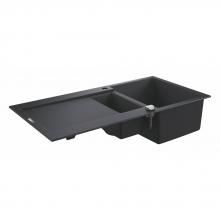 Мойка для кухни (1000 x 500) Grohe K500  31646 AP0 (31646AP0) черный гранит