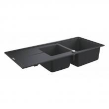 Мойка для кухни Grohe K400 31643 AP0 (31643AP0) черный гранит