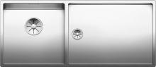 Кухонная мойка Blanco Claron 400/550-T-U (чаша слева) 521601