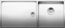 Кухонная мойка Blanco Claron 400/550-T-U (чаша справа) 521602