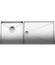 Кухонная мойка Blanco Zerox 400/550-Т-U (чаша слева) 521605