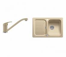 Комплект Blanco CLASSIC 45 S + DARAS 521312D2