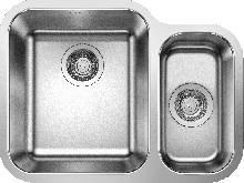 Кухонная мойка Blanco Supra 340/180-U (чаша слева, без клапана-автомата) 525216