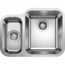Кухонная мойка Blanco Supra 340/180-U (чаша справа, с клапаном-автоматом) 525215
