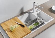 Кухонная мойка Blanco Axia III 6 S чаша слева (мускат), 524651