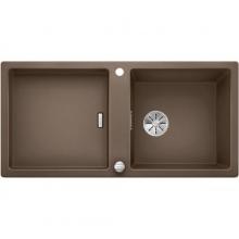 Мойка кухонная Blanco Adon XL 6 S Silgranit PuraDur (мускат), 523612