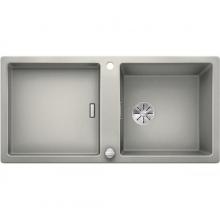 Мойка кухонная Blanco Adon XL 6 S Silgranit PuraDur (жемчужный), 523607