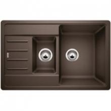 Мойка кухонная Blanco Legra 6 S Compact Silgranit PuraDur (кофе), 521307