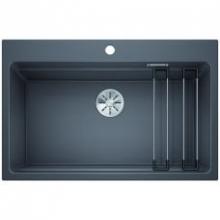 Мойка кухонная Blanco Etagon 8 Silgranit PuraDur (темная скала), 525188