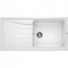 Мойка кухонная Blanco Sona XL 6S Silgranit PuraDur (белый), 519692