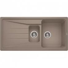 Мойка кухонная Blanco Sona 6S Silgranit PuraDur (серый беж), 519858