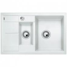 Мойка кухонная Blanco Metra 6S Compact Silgranit PuraDur (белый), 513468
