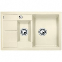 Мойка кухонная Blanco Metra 6S Compact Silgranit PuraDur (жасмин), 513469