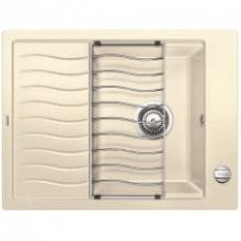 Мойка кухонная Blanco ELON XL 6 Silgranit PuraDur (жасмин), 524839