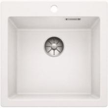 Мойка кухонная Blanco PLEON 5 Silgranit PuraDur (белый), 521672
