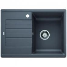 Мойка кухонная Blanco ZIA 45 S Compact SILGRANIT PuraDur (темная скала), 524722