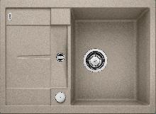 Мойка кухонная Blanco METRA 45S Compact SILGRANIT PuraDur (серый беж), 519580