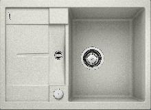 Мойка кухонная Blanco METRA 45S Compact SILGRANIT PuraDur (жемчужный), 520570