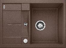 Мойка кухонная Blanco METRA 45S Compact SILGRANIT PuraDur (кофе), 519581