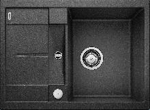 Мойка кухонная Blanco  METRA 45S Compact SILGRANIT PuraDur (антрацит), 519572