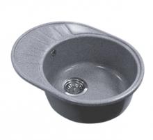 Кухонная мойка Акватон Чезана серый шелк 1A711232CS250