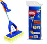 NECO Microfiber Butterfly Mop Refill 27 см Сменный мопШвабра Neco Cleaning Microfiber Butterflly mop 831