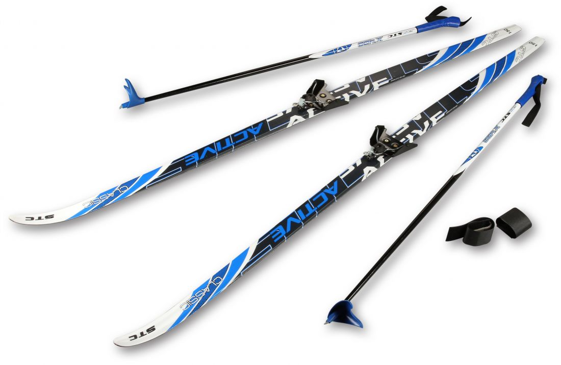 Лыжный комплект STC CA-023 пластиковый 1,6м