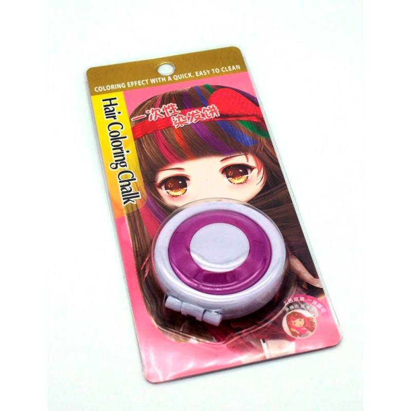 Мелок для временного окрашивания волос, Фиолетовый