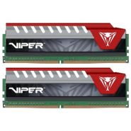 Оперативная память Patriot Viper Elite 16G KIT (2x8G) DDR4 2400MHz (PVE416G240C5KRD) RED
