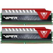 Оперативная память Patriot Viper Elite 8G KIT (2x4G) DDR4 2400MHz (PVE48G240C5KRD) RED