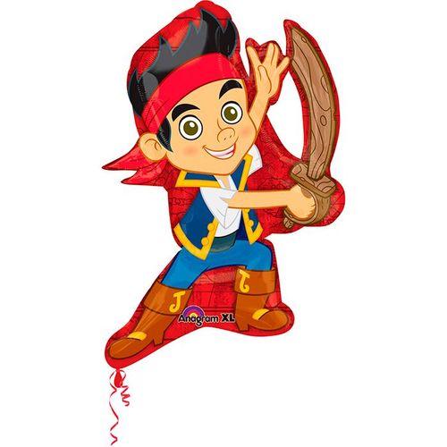 Пират Джейк шар фигурный фольгированный с гелием