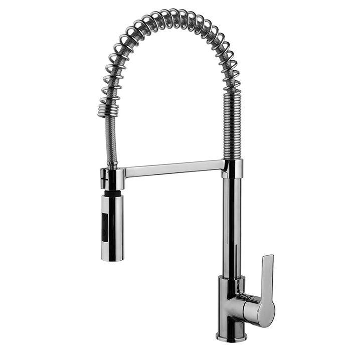 Смеситель с двухрежимным ручным душем Fima - carlo frattini Mast Kitchen F3147/1 для кухни ФОТО